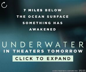 Underwater online ad