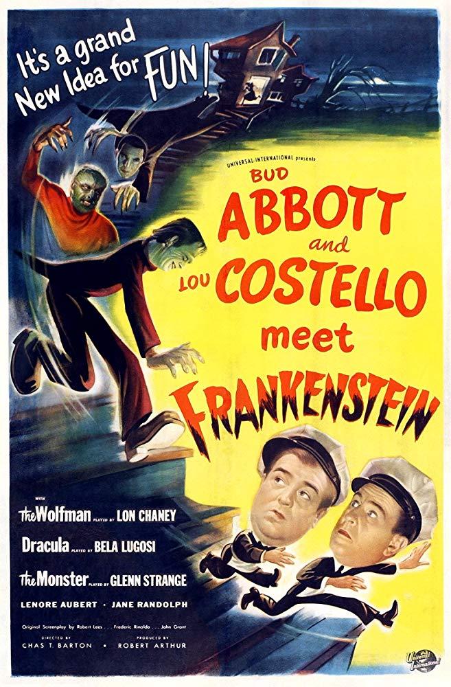 abbott costello meet frankenstein poster
