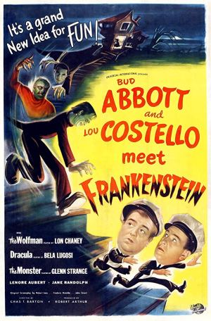 abbott costello meet frankenstein poster