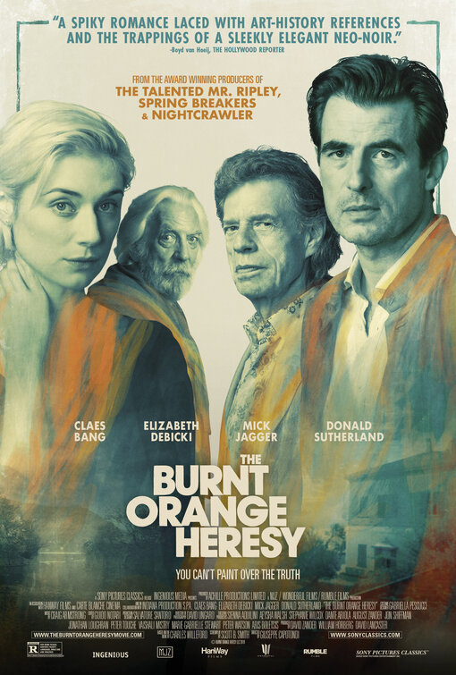 burnt orange heresy poster