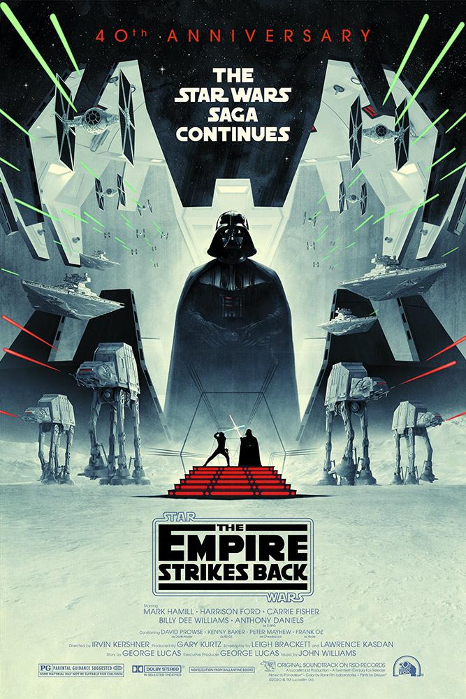 Appreciating The Empire Strikes Back 40th AnniversaryPoster