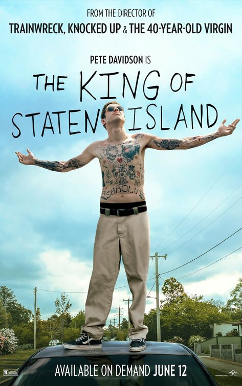 king of staten island poster
